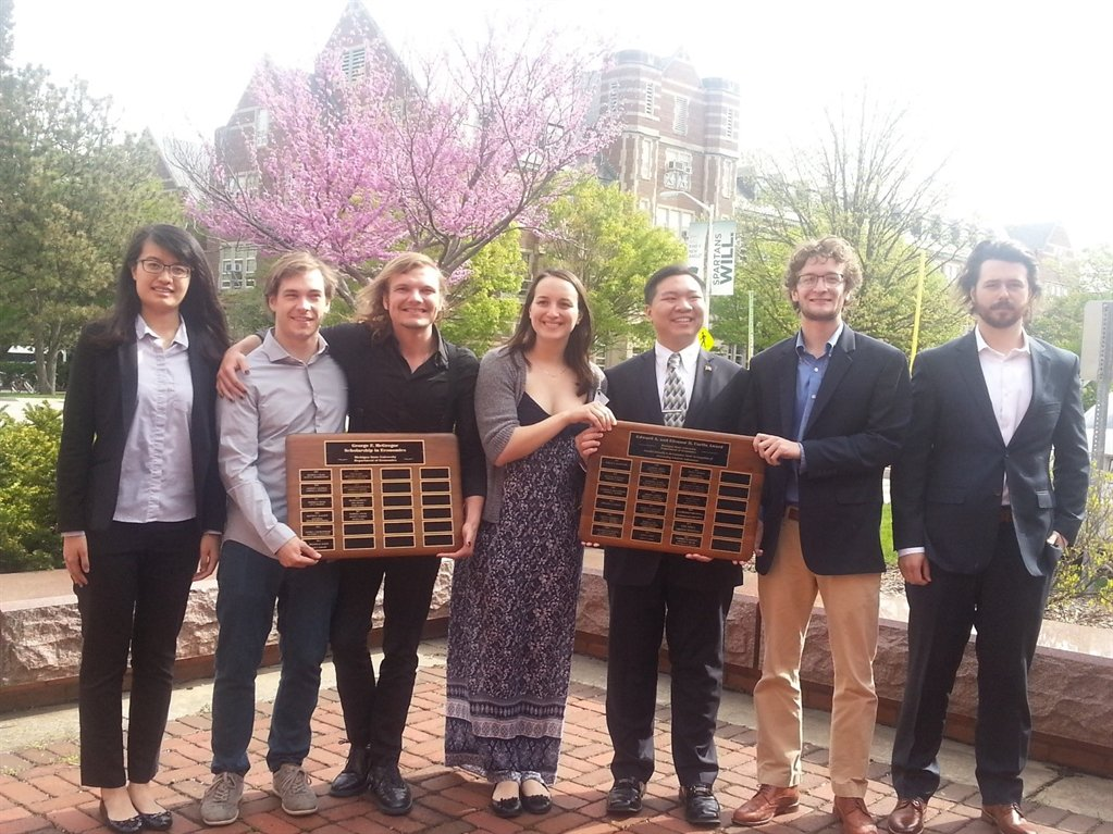 Undergraduate Students with Awards